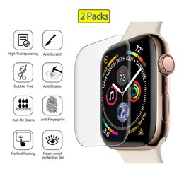 scratch glasses Australia - Tempered Glass for Apple Watch Series 4 40MM 44MM Screen Protector scratch proof Protection for i Watch 4 Screen Cover 9H 3D Apple Watch 4