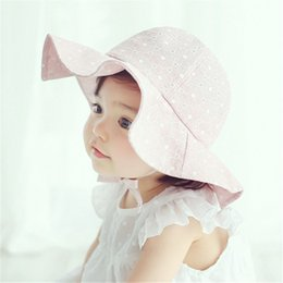 Ideacherry Summer Cute Baby Hat Fruit Pattern Lace Hollow For Princess Baby Girl Cap Toddler Kids Fashion Beach Bucket Sun Hats Hats & Caps Mother & Kids