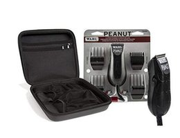 professional barber trimmers NZ - Wahl Professional Peanut Clipper Trimmer 8655-200 Black with Travel Storage Case 90730 Great for Barbers and Stylists On Sale