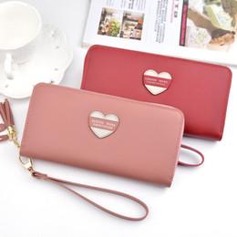 $enCountryForm.capitalKeyWord Australia - New Japan and South Korea fashion large-capacity change tassel mobile phone clutch bag wallet ladies long zipper wallet