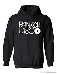 HeavyweigHt Hoodies online shopping - Mens Womens Panic At The Disco Music Band Hoody Heavyweight Pullover Hoodie