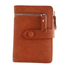 Ladies Card Wallet Cheap NZ - Hot Fashion Women's Purse Thin Zipper Women's Wallet Ladies Pu Leather Wallets Female Purse Mini Card Case Cheap Womens Wallets