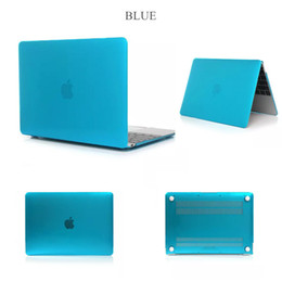Macbook Retina 13 Inches Australia - Crystal Surface Laptop ProtectiveCase For New Macbook 11 12 inch 13.3 15 Air Pro With Retina Touch Bar