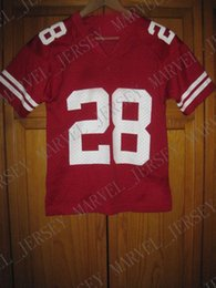 Cheap custom Wisconsin Badgers college football jersey red  28 NEW Customized  Any name number Stitched Jersey XS-5XL 3e53a1625