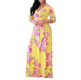 $enCountryForm.capitalKeyWord Canada - Hot Sale Designer Dresses For Women Sexy Skirts New Brand Dresses Luxury Women Plus Size Dresses Clothing Wholesale