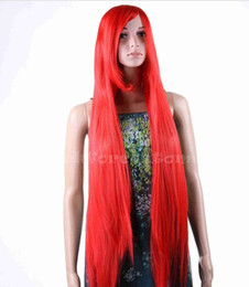 Wholesale WIG WBY CM Long Straight heat resistant fashion Wigs Lady Full Cosplay Anime hair wig