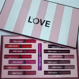 Lipstick Matte Colours Australia - 15 colors Colour Pop Ultra Matte Liquid Lipstick Waterproof Lip Gloss Secret makeup set with paper bag for women .