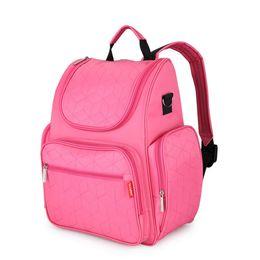 Backpack Stroller UK - Nappy Bags Fashion Mummy Maternity Diaper Bag Nursing Bag Travel Backpack Stroller for Baby Care