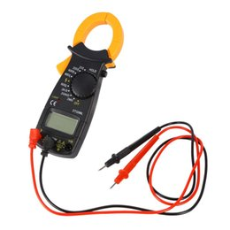clamp multimeter ac dc Australia - DT-3266L Digital Clamp Meter Multimeter Current Clamp Pincers AC DC Current Voltage Resistance Tester Measuring Tools