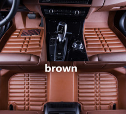 $enCountryForm.capitalKeyWord Australia - Applicable to Kia KX Cross 2017-2018 car floor mat front and rear pad accessories non-slip waterproof leather carpet car mat