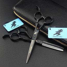 equipment cut hair NZ - NUM-0001 6.0 Inch Hairdressing Scissors Barber Hair Cutting Shears Set Hairdresser Equipment Tool With High Quality