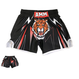 mens combat shorts Australia - Big Tiger Boxing Mens Shorts Designer Training Free Combat Competition Shorts Running Exercise Fitness Fighting Homme Shorts
