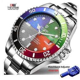 $enCountryForm.capitalKeyWord Australia - Tevise Luxury Waterproof Automatic Men Mechanical Watch Auto Date Full Steel Business Top Brand Man Watches Water Resistant T801 J190705
