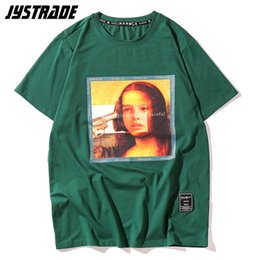 $enCountryForm.capitalKeyWord NZ - Mona Lisa Men's New 2019 Hot Selling The Professional Funny 90s T-shirts Streetwear Summer Graphic Tees Hip Hop Casual Cotton Y190506