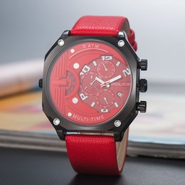 Chinese  Quartz (Battery) Chinese police sports watch male trend Korean version of the personality student vibrato special forces large dial men's su manufacturers