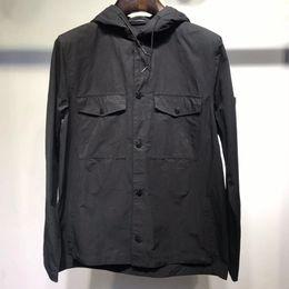 $enCountryForm.capitalKeyWord Australia - Men's Designer coats Luxury Jacket Simple Solid Color Workwear Casual Couple Armband Logo LOGO High Quality Fashion Wide Jacket