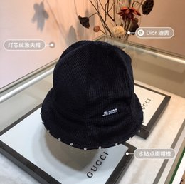 $enCountryForm.capitalKeyWord Australia - Ladies small eaves fishermen hats leisure fashion exquisite corduroy Women Hat Ladies Women Vintage Hat Fall Winter Fisherman hat