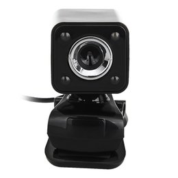 $enCountryForm.capitalKeyWord UK - 480P 30W 4 LED HD Webcam Camera + USB 2.0 Microphone for Computer PC Laptop Black