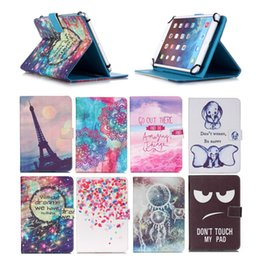 Wholesale Cartoon Printed Universal inch Tablet Case for HP Plus Cases kickstand PU Leather Flip Cover Case for HP Slate10 HD