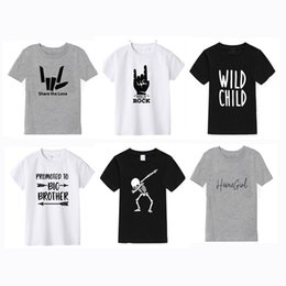 top printed t shirt for girl Australia - Girls T Shirt For Boy 2019 New Summer Boys T Shirt Fashion Print Cotton Short Sleeve Kids Tops Brand Children's Clothes