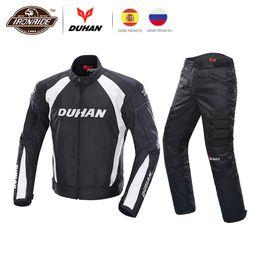 $enCountryForm.capitalKeyWord Australia - DUHAN Men Motorcycle Jacket Moto Jacket Motorcycle Pants body Armor Windproof Cold-proof Touring Motorbike Riding Suit