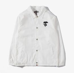 Justin Bieber Fashion Coating Australia - New pattern fashion mens designer jackets justin bieber Sunscreen thin coat fear of god windbreaker jacket men and women hip hop APE basebal