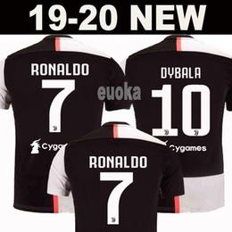 144153f7d7 Ingrosso New 2019 Maglia da calcio RONALDO JUVENTUS 18 19 20 JUVE 2020 Home  Away DYBALA