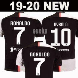 Novo 2019 RONALDO JUVENTUS Camisa De Futebol 18 19 20 JUVE 2020 Casa Fora DYBALA HIGUAIN BUFFON Camisetas Futbol Camisas Maillot Camisa De Futebol