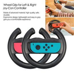switch controller holder Australia - For Nintend Switch ABS Steering Wheel Handle Stand Holder Left Right Joy-Con Joycon For Nintend Switch NS NX Controller Wheels