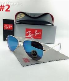 389cf55a88 Nuevas gafas de sol Ray-Ban Pilot Hombres Mujeres Niños Banda UV400  Polarizada BEN Gafas Lentes de espejo Gafas de sol con estuches y estuches