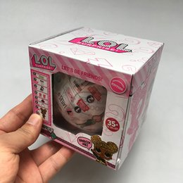 $enCountryForm.capitalKeyWord Australia - 10cm Glitter Series 1 souvenir edition Doll Magic Egg Ball Action Figures Toy Kids Unpacking Dolls Girls Funny Dress Up Gift