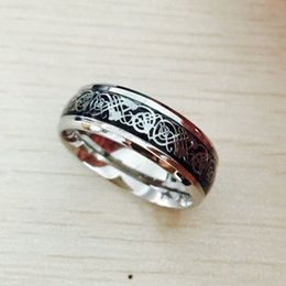 East Indian Stainless Steel Ring Australia - Punk silver Free Shipping 316L stainless steel Ring Mens Jewelry for Men the lord of the ring Wedding Band male ring for lovers