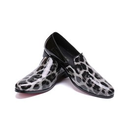 Italian Office Shoes Designs Australia - Man Fashion Leather Italian Derby Shoes Flats 2019 Autumn Casual Design Male Office High Quality Mules Flats Shoes