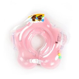 China 2017 Neck Float Baby Accessories Swim Neck Ring Baby Safety Swimming Infant Circle For Bathing Inflatable supplier baby bath rings suppliers
