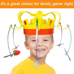 $enCountryForm.capitalKeyWord Australia - 2018 Toy kids Family Novel Crown Game Musical Spinning Crown Snacks Food Party Toy Child funny Family Top Gift SH190913