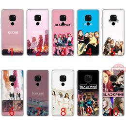 Silicone Pop Phones Australia - Blackpink K Pop Girl Soft Silicone TPU Phone Case for Huawei Mate 20 10 Pro Nova 2i 3 3i 4 Lite