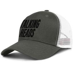 $enCountryForm.capitalKeyWord UK - Talking Heads logo black army_green mens and women trucker cap ball cool designer sports hats