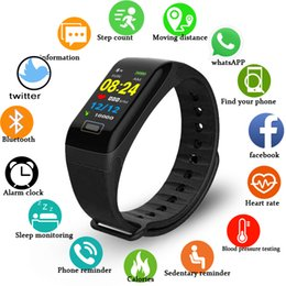 $enCountryForm.capitalKeyWord Australia - BANGWEI Fitness Smart Watch Men Women Sport Watch Pedometer Tracker Heart Rate Monitor IP67 Waterproof For IOS Android+box
