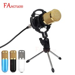 $enCountryForm.capitalKeyWord Australia - Bm 800 Microphone Condenser Sound Recording Microphone With Shock Mount For Radio Braodcasting Singing Recording Ktv Karaoke Mic T190704