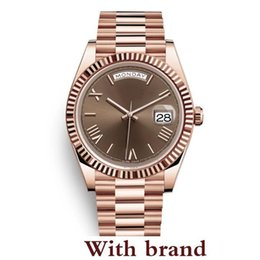 $enCountryForm.capitalKeyWord UK - 2019 Yellow Rose Gold Watch Mens Women Luxury Watch DayDate President Automatic r Watches Mechanical Roma Dial Wristwatch Reloj