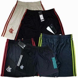 New 2019 2020 2021 Flamengo Soccer Shorts DIEGO home away 3rd 19 20 21 football training Sports pants S-2XL on Sale