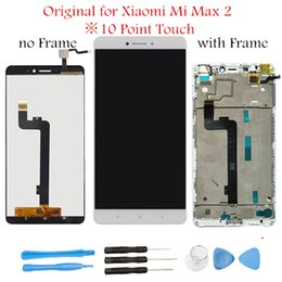 $enCountryForm.capitalKeyWord Australia - Original LCD for Xiaomi Mi Max 2 LCD Display Screen Touch with Frame Assembly Display Touch Screen for Mi Max 2 Repair Parts