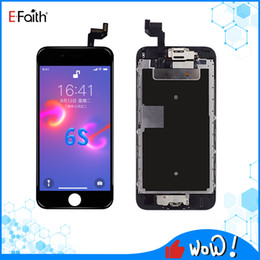 iphone home screen button Australia - EFaith Full LCD Screen For iPhone 6S LCD Display Touch Digitizer Assembly Good Repair Replacements With Home button