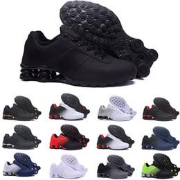 buy popular b4264 31008 nike air Shox Deliver NZ RunnING ShOes Hombre Barato Original Blanco Negro Shox  NZ OZ Zapatillas de deporte de encaje Zapatos Shox TURBO 21 Hombres Zapatos  ...