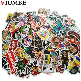 Decals Stickers Pack Australia - best selling Pack New Car Stickers Skateboard Guitar Travel Case bicycle motorcycle sticker Car decal individuality fashion sticker 100pcs