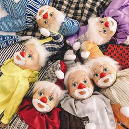 $enCountryForm.capitalKeyWord UK - 20170630 Hot Sales Hand-painted Antique American Vintage Ceramic Resin Clown 40cm Decorative Doll Pendant Free Shopping