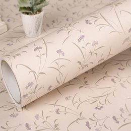 Paper Table Roll Australia - PVC Vinyl Self adhesive Waterproof Wallpapers Pattern Decorative Wall Sticker For Wardrobe Kitchen Table Door 3D Stickers Roll
