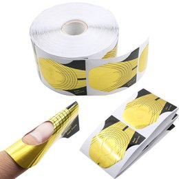 Shape Arts Australia - High quality 100pieces of nail art golden paper fish shape Light therapy nail crystal special DIY manicure tools