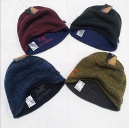 fleece earmuffs UK - Winter hat man fleece hat take double baotou earmuffs running mountaineering leisure fishing warm warm hat