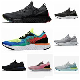 Wholesale Best Epic React Instant Go Fly S0UTH running shoes men Belgium Be true Racer blue platinum blue luminous ladies sports shoes